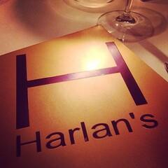 Good food and nice view from #theone #harlans #hongkong