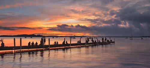 Lake Mendota sunset