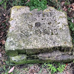 Tythe Stone for the old practice of paying tythes, a form of tax http://www.ashton-under-lyne.com/history/tythestone.htm #tythe #stone #ashton #taxes #farm #farmers #hike #hiking #walk #walks #walking #nature #outdoors #countryside
