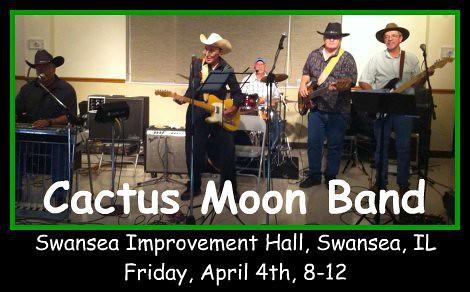Cactus Moon Band 4-4-14