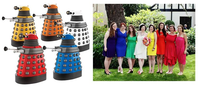 Colored Dalek Outfits