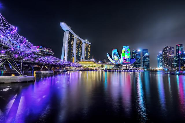 Marina Bay Sands's Ilight Show