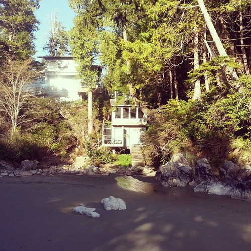 Discovered this unique #accommodation beside Tonquin Park in Tofino, with its own private beach.