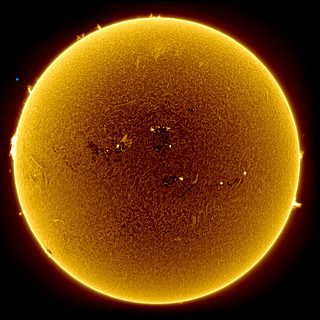 April 16th's Spotty Sun - Full Disc