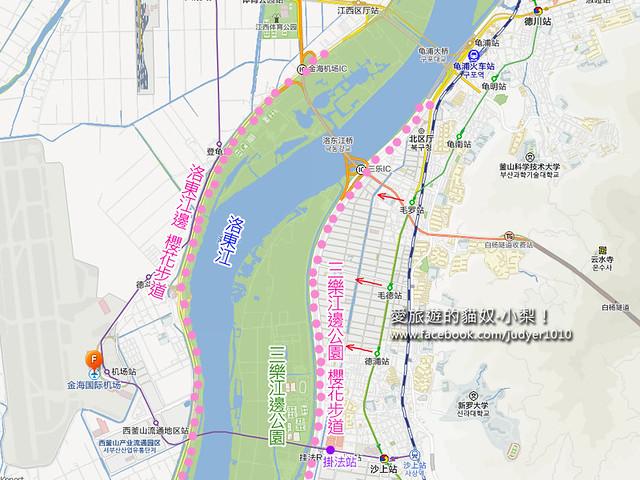 三樂江邊公園地圖