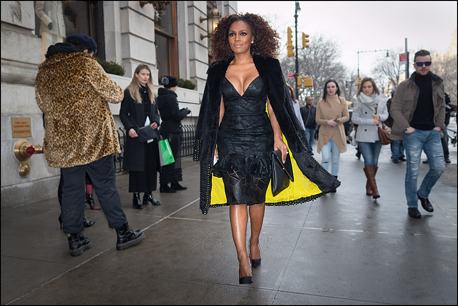 Janet Mock at The Plaza...NYFW Feb. 2017