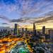 Saigon skyline @ sunrise 2017 by daihocsi [(+84) 918.255.567]