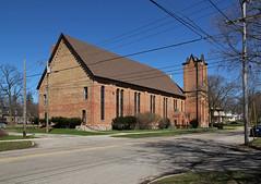 Rear, College Baptist Church ? Hillsdale, Michigan