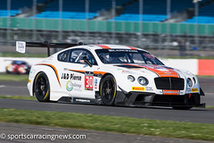 Team Parker Racing Bentley Continental GT3 Blancpain Endurance Series Silverstone 2016 Sportscar Racing News