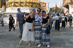 4Y1A0973 Tourists in Grand Palace, Bangkok