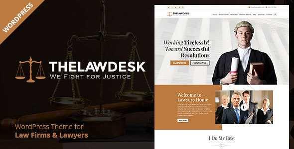 Law Desk WordPress Theme free download