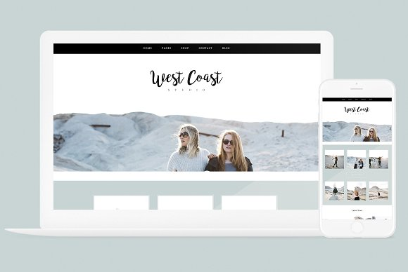 West Coast v2.2.2 - WP Theme + Brand Kit