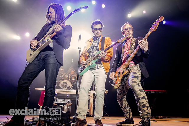 Weezer at Shaw Conference Centre, Edmonton AB, 2017 04 04