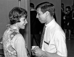Student social, circa early 1967, Fresno State College