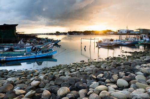 fishingport kaoshiung color 高雄 高雄市 南寮漁港 夕陽 sunset 黑卡 搖黑卡 sony nex6 風景 landscape sonyphotographing