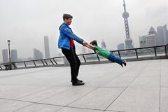 Circling the Bund, Shanghai