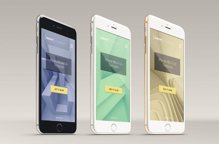 Smartphone Mockup PSD - Smartphone Mockup PSD