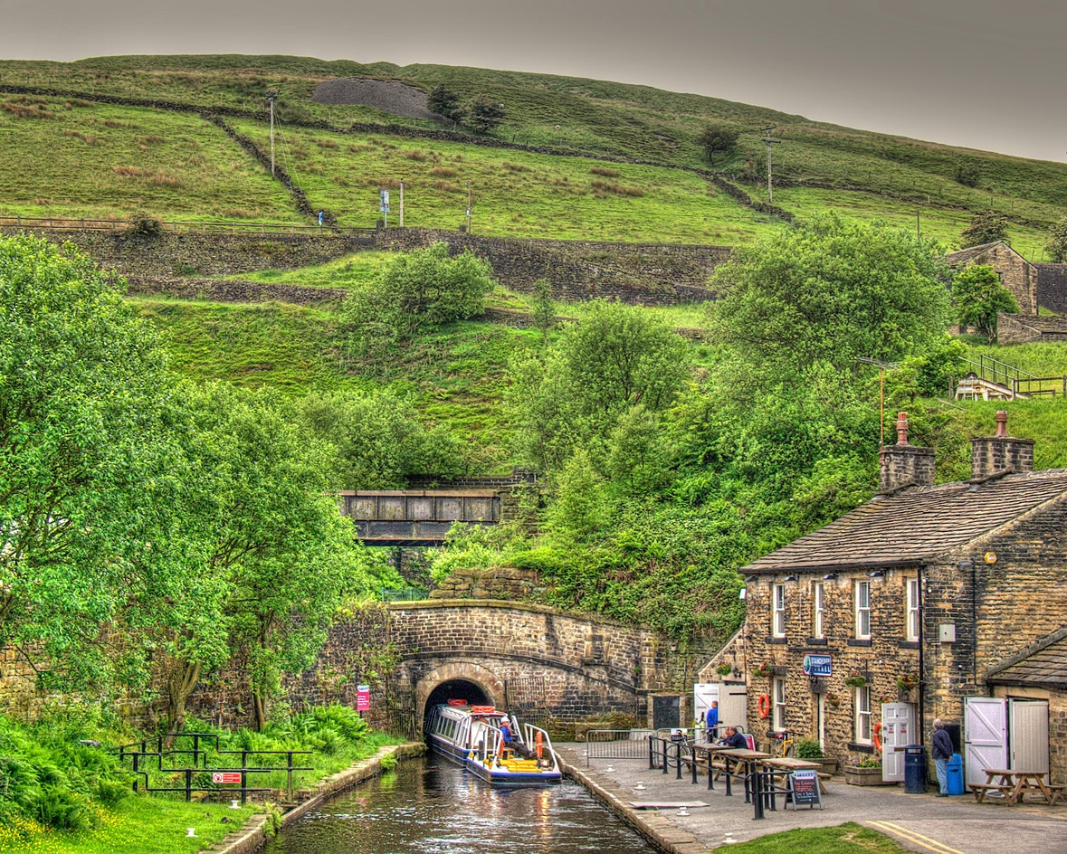 Entrance to Standedge Tunnel, Marsden, West Yorkshire. Credit 54north