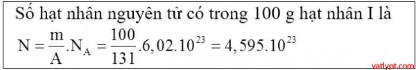 Bài tập cấu tạo hạt nhân, thuyết tương đối, vật lý lớp 12