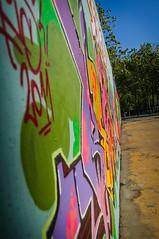 Graff en Parc de les 3 Xemeneies