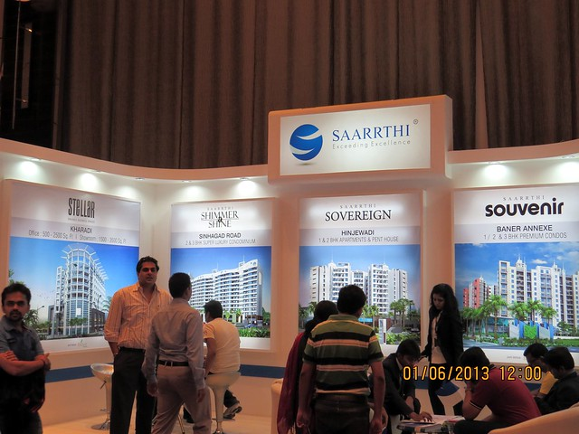 www.saarrthigroup.com - Visit Times Property Showcase 2013, 1st &2nd June 2013, JW Marriott, S B Road, Pune