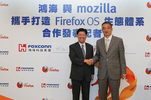 Mozilla-Foxconn partnerség