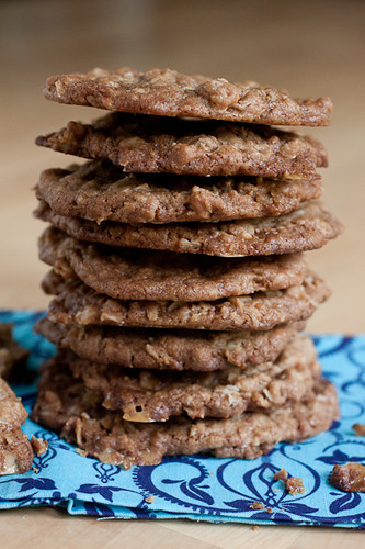 how to make oatmeal cookies crispy