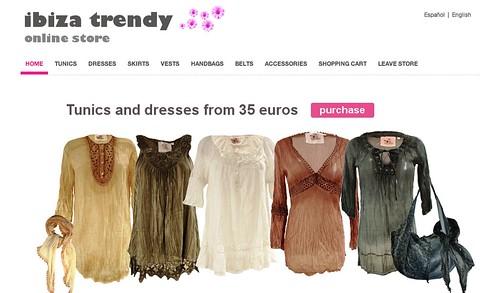Ibiza Trendy Online store