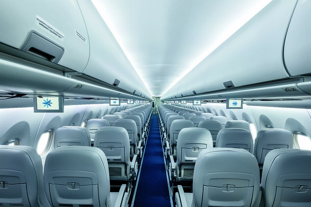 SSJ100 for Interjet - Interiors