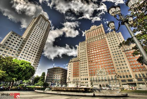Plaza de España | HDR by alrojo09