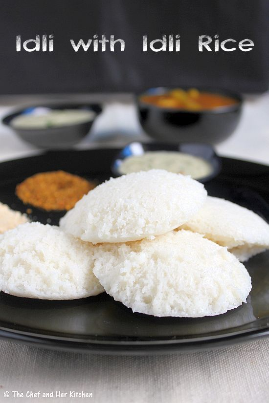 idli recipe using idli rice