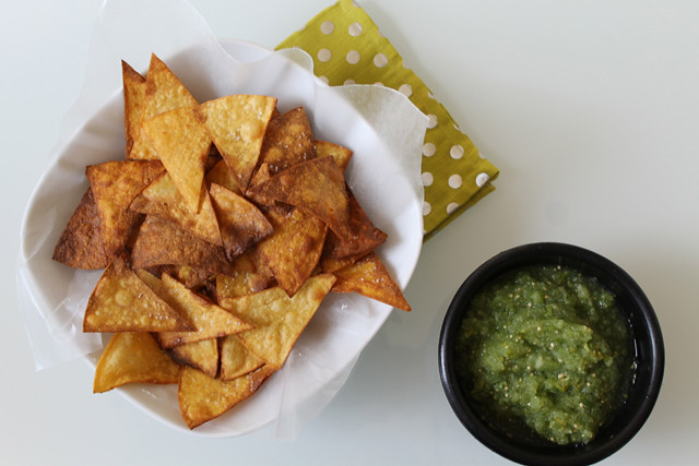 Summer recipe: homemade tortilla chips