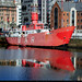 UK - Liverpool - Docked ship sq by Darrell Godliman