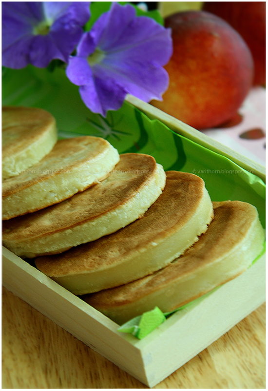 ขนมบ้าบิ่น : kanom babin - thai style pancakes