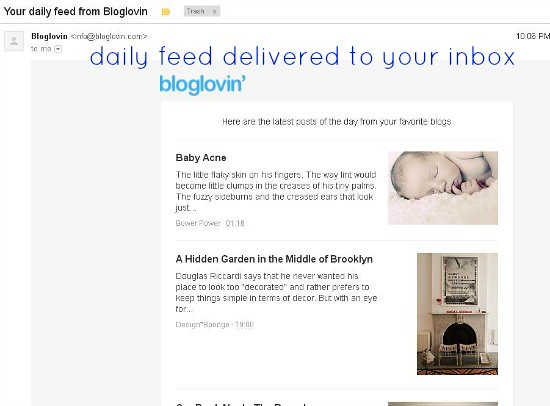 Hi Sugarplum | Migrating to Feedly and Bloglovin