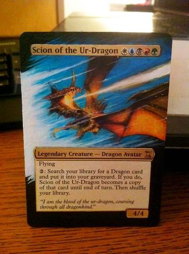 Scion of the Ur-Dragon Magic Card Jacob Honor