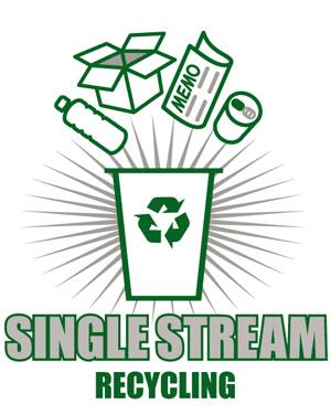 Single stream recycling