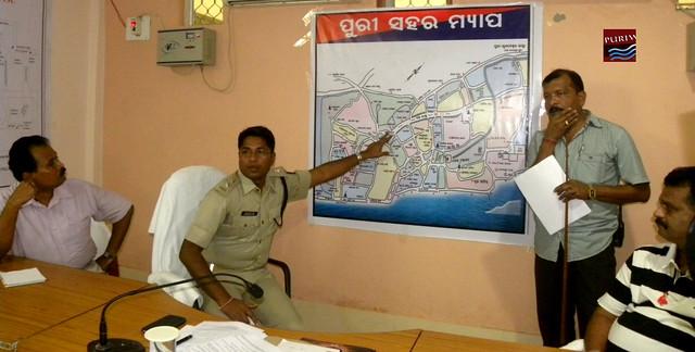 Trafic Control Press Meet Rathyatra