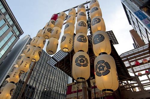 2013/07/12 京都・祇園祭 鉾建て