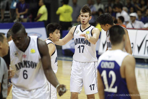 UAAP Season 76: Ateneo Blue Eagles vs. Adamson Falcons, July 14