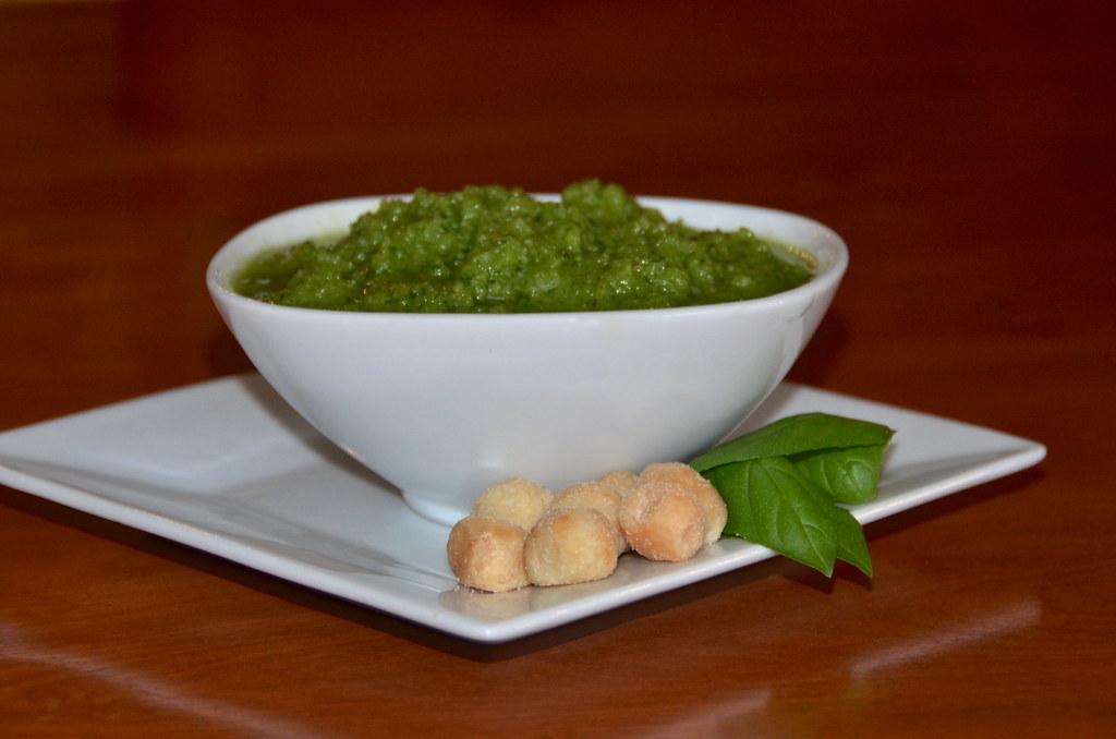 Macadamia Nut Basil Pesto