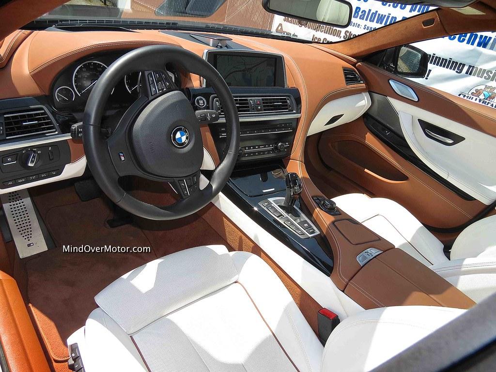 2013 bmw 650i xdrive gran coupe interior