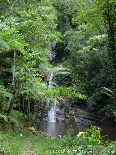 New Rizal Waterfalls from afar.
