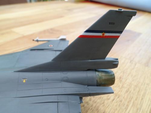 Les faucons de Mostar [General Dynamics F-16 XL Monogram] 9416554065_c2d6767d1e
