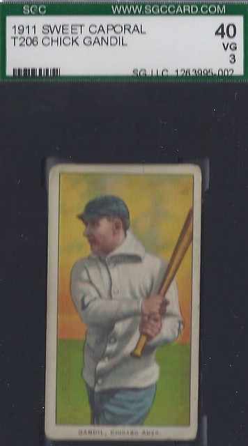 t206 chick gandil chicago american league first