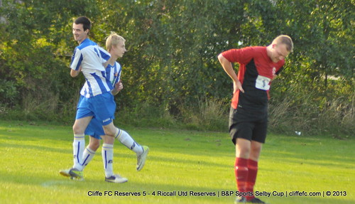 Cliffe FC 2ndXI 5 - 4 Riccall Utd Reserves 7Aug13