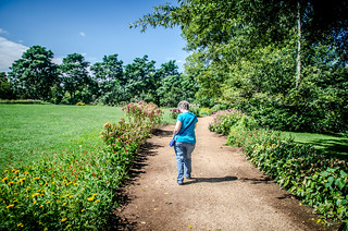 Laura at Monticello