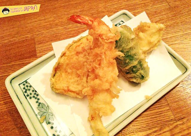 Tempura Tsunahachi - Shinjuku - Takashimaya - assorted tempura 2