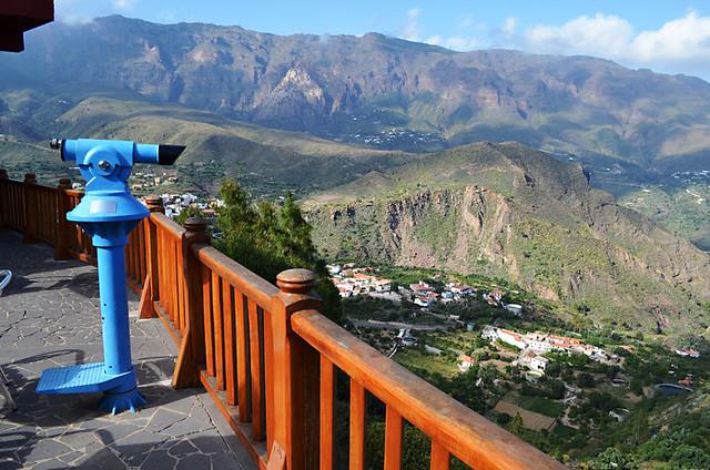 View from Hotel Las Tijaranas, San Bartolomé, Gran Canaria