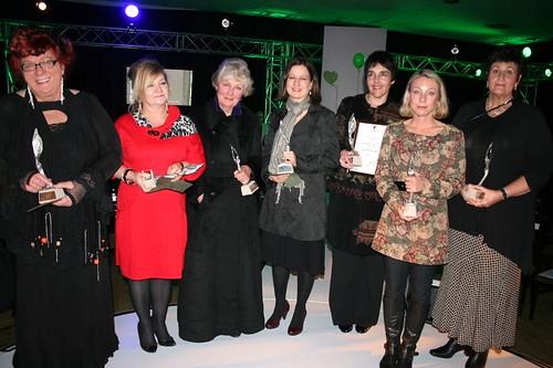 Kristel Loots, Dina Botha, Petra Muller, Janita Holtzhausen, Jana Luther, Nicola Hanekom en Karin Brynard